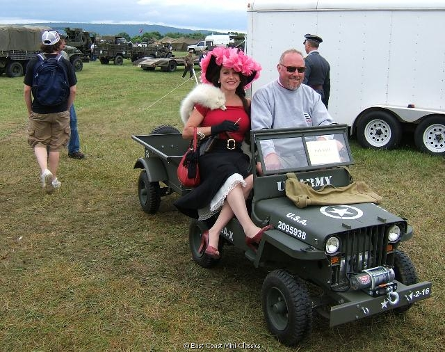 Military Willys Mb Jeep Gp